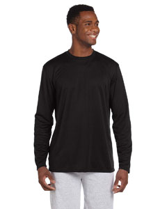 Black 4.2 oz. Athletic Sport Long-Sleeve T-Shirt
