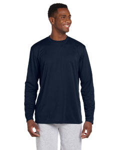 Navy 4.2 oz. Athletic Sport Long-Sleeve T-Shirt