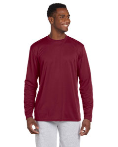 Maroon 4.2 oz. Athletic Sport Long-Sleeve T-Shirt