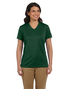 Dark Green Women's 4.2 oz. Athletic Sport T-Shirt
