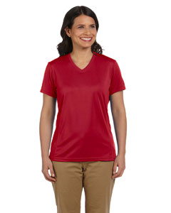 Red Women's 4.2 oz. Athletic Sport T-Shirt