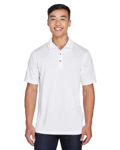 White Men's Advantage Snag Protection Plus IL Placket Polo