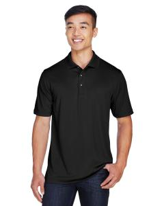 Black Men's Advantage Snag Protection Plus IL Placket Polo