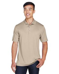 Khaki Men's Advantage Snag Protection Plus IL Placket Polo