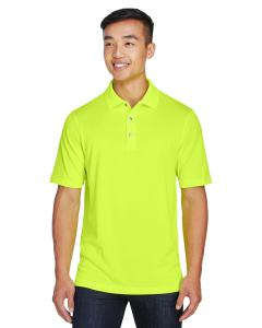 Safety Yellow Men's Advantage Snag Protection Plus IL Placket Polo