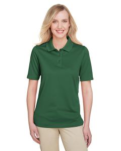Dark Green Ladies' Advantage Snag Protection Plus IL Polo