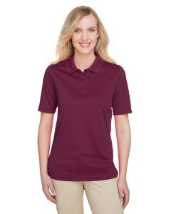 Maroon Ladies' Advantage Snag Protection Plus IL Polo