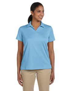 Light Blue Women's 3.5 oz. Double Mesh Sport Shirt