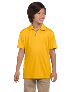 Gold Youth Double Mesh Sport Shirt
