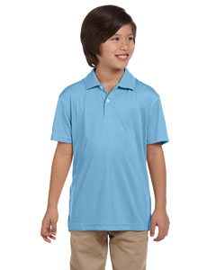 Light Blue Youth Double Mesh Sport Shirt