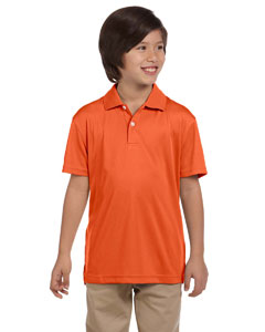 Team Orange Youth Double Mesh Sport Shirt