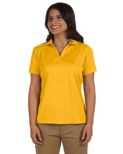 Gold Women's 3.8 oz. Micro Piqué Polo