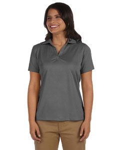 Charcoal Women's 3.8 oz. Micro Piqué Polo