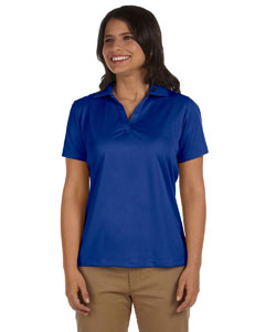 True Royal Women's 3.8 oz. Micro Piqué Polo