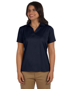 Navy Women's 3.8 oz. Micro Piqué Polo