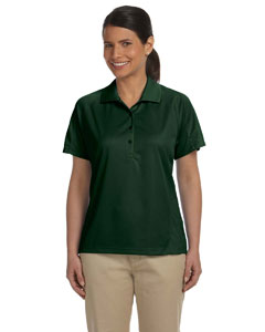 Dark Green Women's 3.8 oz. Polytech Mesh Insert Polo