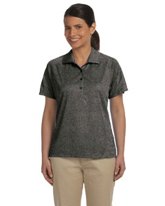 Charcoal Women's 3.8 oz. Polytech Mesh Insert Polo