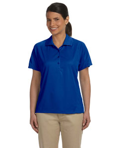 True Royal Women's 3.8 oz. Polytech Mesh Insert Polo