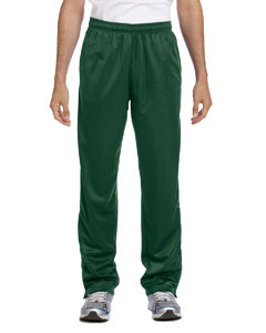 Dark Green Men's Tricot Track Pants
