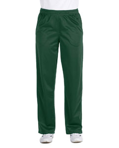 Dark Green Women's Tricot Track Pants