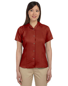 Tile Red Women's Bahama Cord Camp Shirt