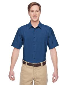 Pool Blue Men's Paradise Short-Sleeve Performance Shirt