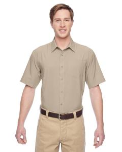 Khaki Men's Paradise Short-Sleeve Performance Shirt
