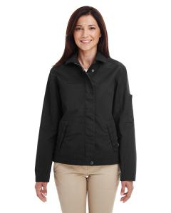 Black Ladies' Auxiliary Canvas Work Jacket