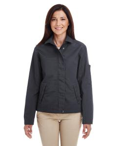 Dark Charcoal Ladies' Auxiliary Canvas Work Jacket