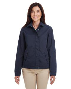 Dark Navy Ladies' Auxiliary Canvas Work Jacket