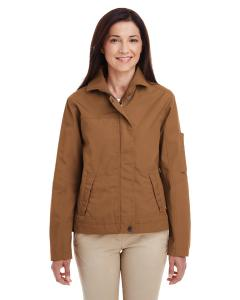 Duck Brown Ladies' Auxiliary Canvas Work Jacket