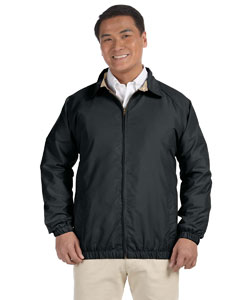 Black/stone Microfiber Club Jacket