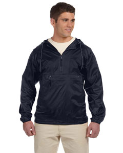 Navy Adult Packable Nylon Jacket