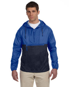 Royal/navy Adult Packable Nylon Jacket