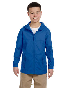 Cobalt Blue Youth Essential Rainwear