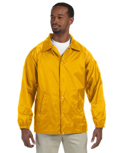 Sunray Yellow Nylon Staff Jacket