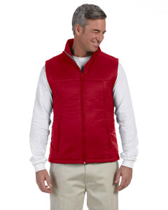 Red Men's Essential Polyfill Vest