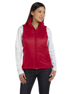 Red Women's Essential Polyfill Vest