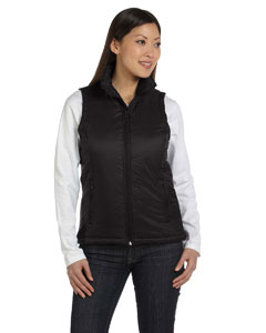 Black Women's Essential Polyfill Vest