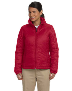 Red Women's Essential Polyfill Jacket