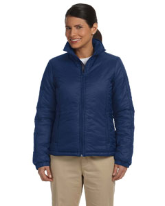 New Navy Women's Essential Polyfill Jacket