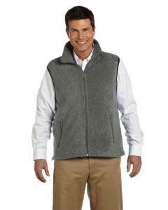 Charcoal Adult 8 oz. Fleece Vest