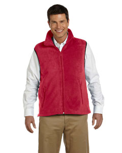 Red Adult 8 oz. Fleece Vest