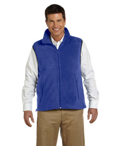 True Royal Adult 8 oz. Fleece Vest