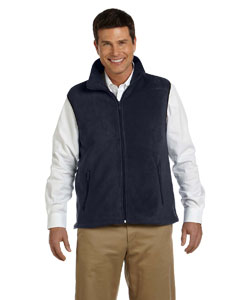 Navy 8 oz. Fleece Vest