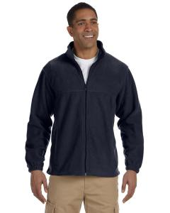 Navy Men's TALL 8 oz. Full-Zip Fleece