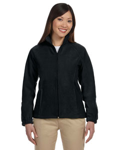 Black Women's Full-Zip Fleece