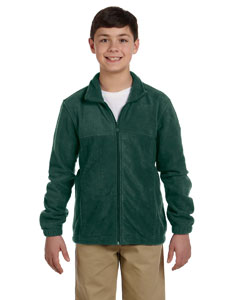 Hunter Youth 8 oz. Full-Zip Fleece
