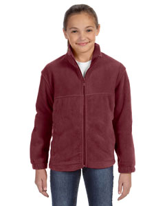 Wine Youth 8 oz. Full-Zip Fleece