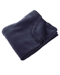 Navy 12.7 oz. Fleece Blanket